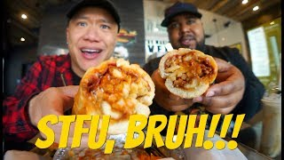 Why We Used To Hate Each Other   Fat Sandwich Muk Bang With Ricky Shucks