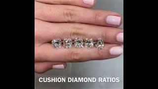 Cushion Cut Diamond Ratios: Lauren B Diamond Education