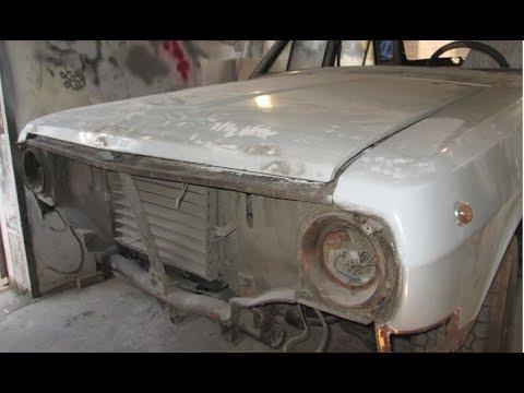 Газ 24 ремонт кузовщиты Донецк (3-я серия)