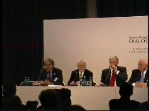 Pressekonferenz Petersburger Dialog 2007 in Wiesbaden – [Video]