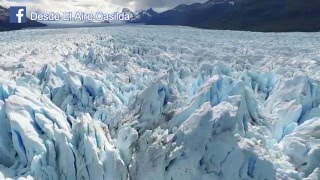 Glaciar Perito Moreno visto desde un Drone!!!