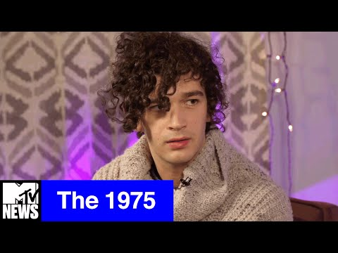 The 1975&#39s Matt Healy Talks Makeup, Making Out, &amp Why Music Genres Are DeadMTV News