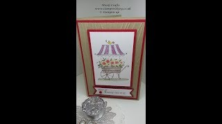 Friendship's Sweetest thoughts card Stampin up