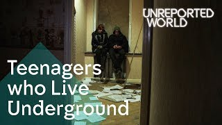 Ukraine's teens living underground to stay alive | Unreported World