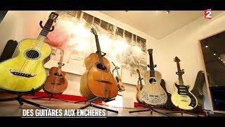 Adjugé vendu - Des guitares aux enchères