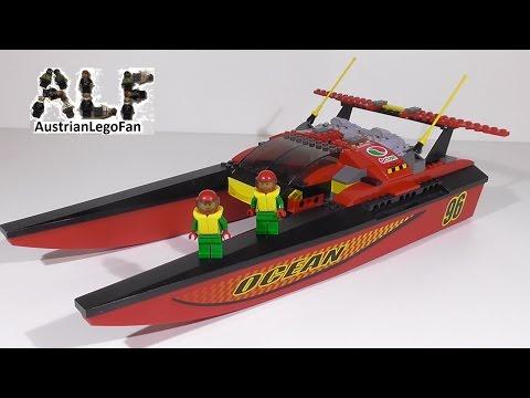 Vidéo LEGO City 7244 : Le hors-bord