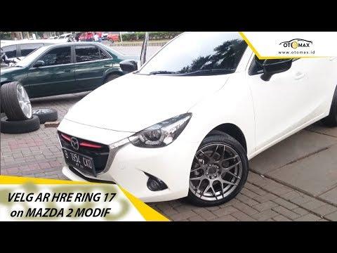 Modifikasi Mazda 2 Pakai Velg AR HRE Ring 17 | Sinar Otomax