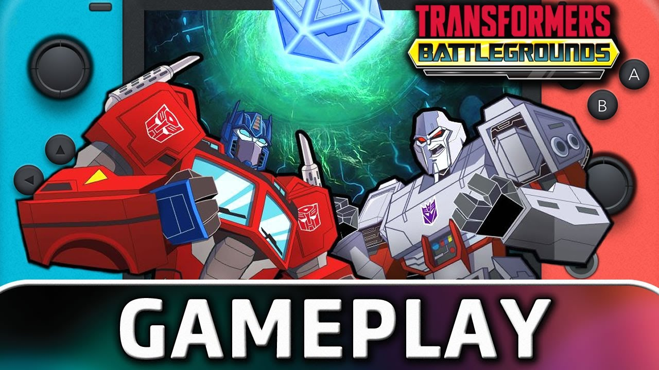 TRANSFORMERS: BATTLEGROUNDS | First 25 Minutes on Nintendo Switch