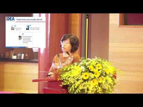 Bà Nguyễn Thị Minh Huyền - Phó Cục trưởng Cục Thương mại Điện tử và Kinh tế số