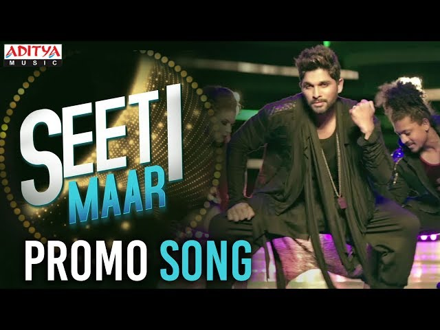 Seeti Maar Video Song Promo | DJ  Duvada Jaganadam Movie Songs | Allu Arjun