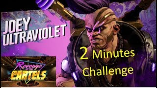 Borderlands 3 REVENGE OF THE CARTELS Boss Joey Ultraviolet Defeated in Under 2 Minutes