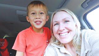 meeting jackson's teacher, ice cream date, and baby bump update!