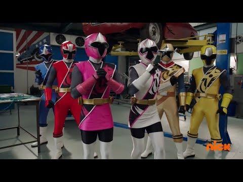 Power Rangers Super Ninja Steel - Power Rangers in the Base | Episode 4