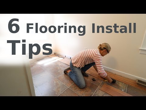 Laminate Floor Installation – Beginner How-To