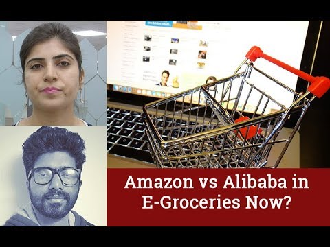 Amazon-Alibaba battle shifting to online grocery