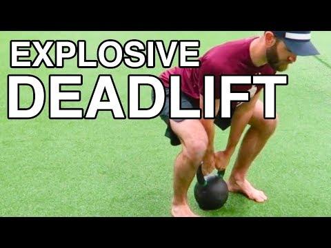 Explosive Kettlebell Deadlift