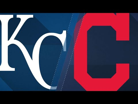 8/27/17: Nine-run 2nd leads Tribe past Royals, 12-0