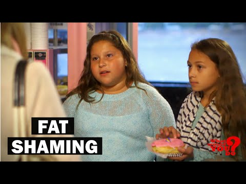 Mother Fat Shames Daughter | What Would You Do? | WWYD