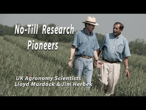 No-Till Research Pioneers Murdock and Herbek