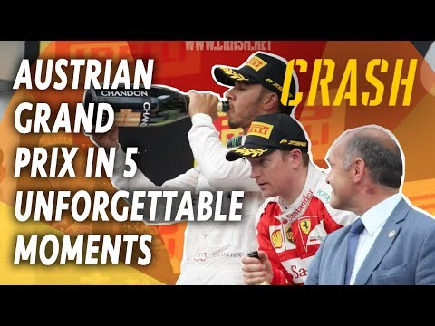 Austrian Grand Prix in 5 Classic Moments!