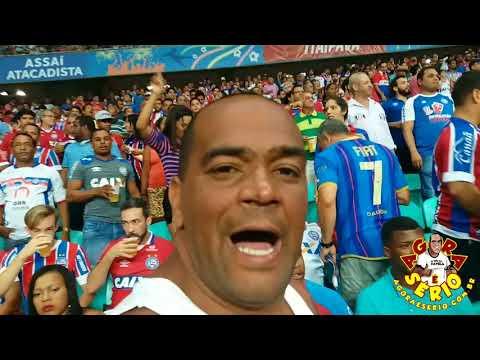 Repórter Favela na Arena Fonte Nova