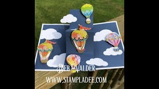Twist and Pop Card with Deb Valder & Fun Stampers Journey