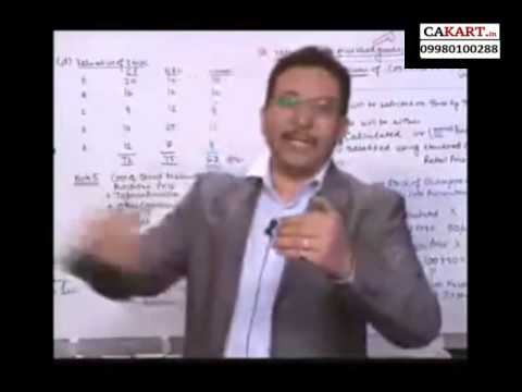 IPCC Accounts video classes by CA Parveen Sharma on AS 2 (part 3)
