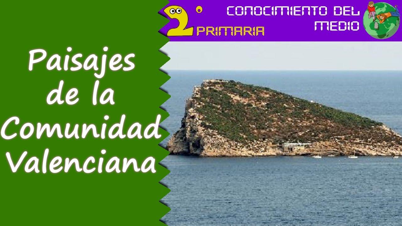 Cono, 2º Primaria. Tema 15. Los paisajes de la Comunidad Valenciana