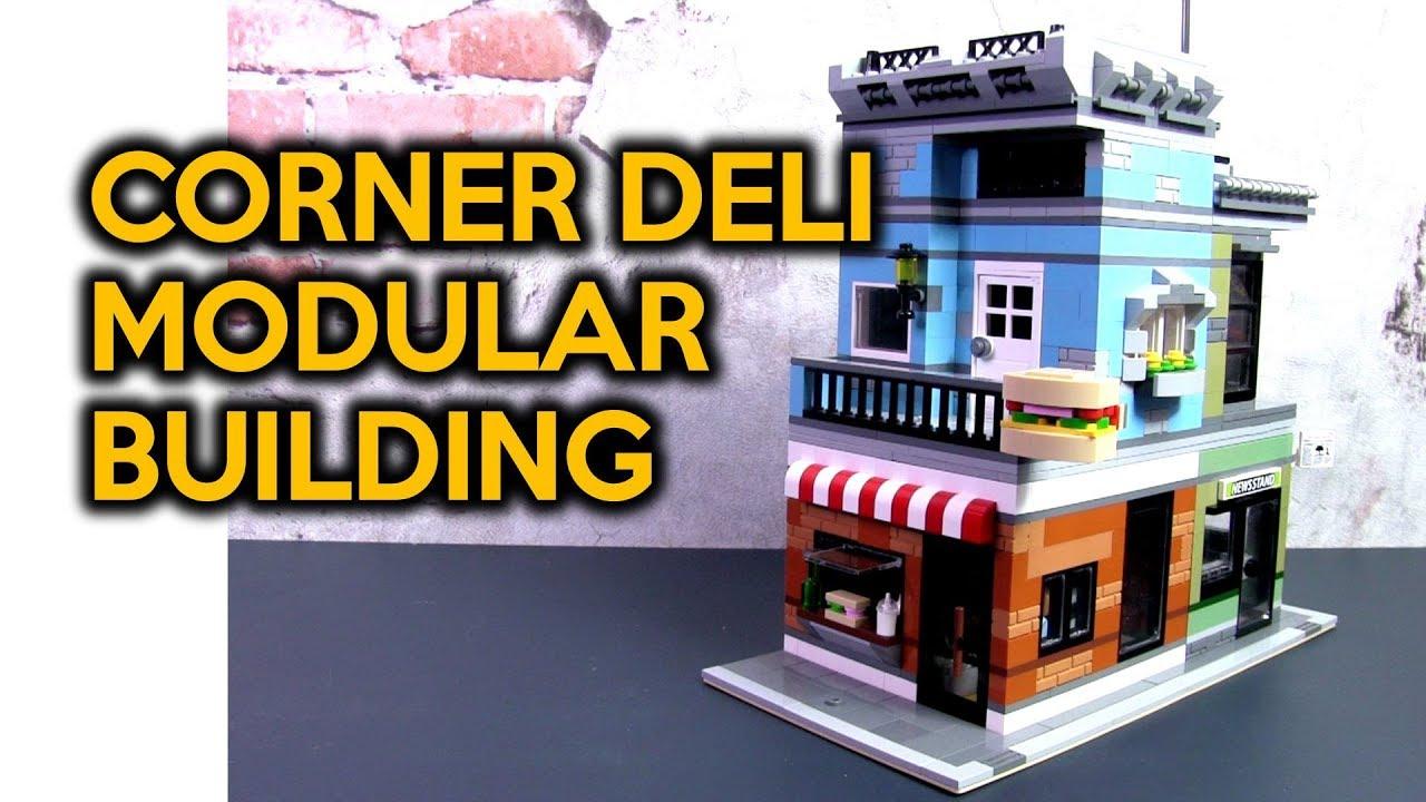 Custom LEGO Corner Deli 31050 Modular Building MOC