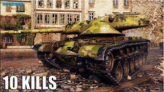 ХИТРЫЙ ХОМЯК Т54Е1 🌟 10 ФРАГОВ 🌟 World of Tanks лучший бой T54E1