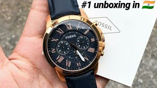 Fossil..FS-4835 Unboxing (chronograph Watch) Best Watch For U To Buy In 2019