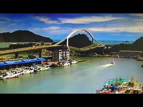 20 heridos al derrumbarse un puente en el noreste de Taiwán