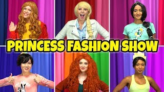 DISNEY PRINCESSES FASHION SHOW! (Who Has the Best Disney Bounding Back to School Style?)