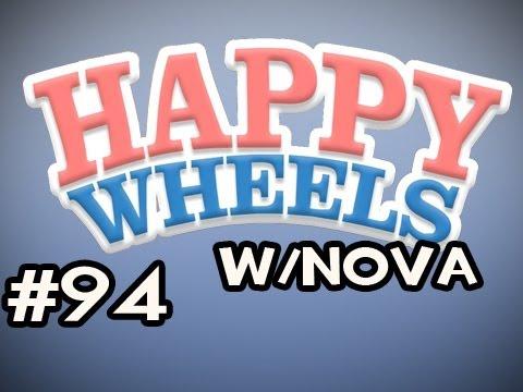 Happy Wheels w/Nova Ep.94 - The Chainsaw Car Madness