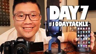 #10DAYTACKLE - MY MUKBANG SETUP (Day 7)