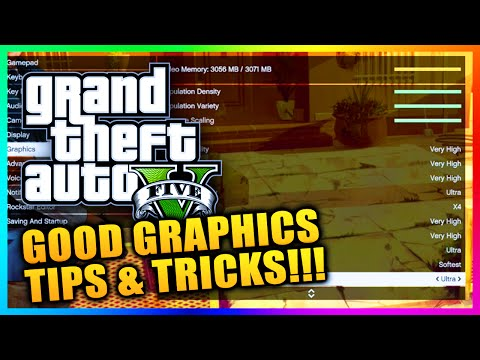 GTA 5 PC Graphics Settings Tips! How To Get Ultra & Very High Graphic Settings In GTA 5 PC! (GTA V)