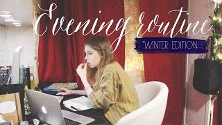 Evening Routine *winter edition* | Beauty Blanc