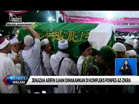 Jenazah Arifin Ilham Dimakamkan di Kompleks Ponpes Az-Zikra