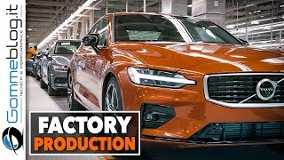 Volvo S60 CAR FACTORY PRODUCTION - How IT