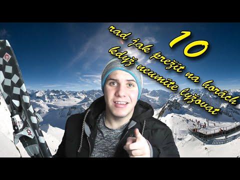 10 Rad jak přežít na horách když neumíte lyžovat [CZ] [FullHD][60FPS]