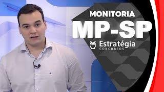 Aula Gratuita MP-SP: Monitoria