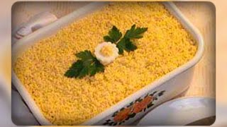 Салат «Мимоза с сыром»
