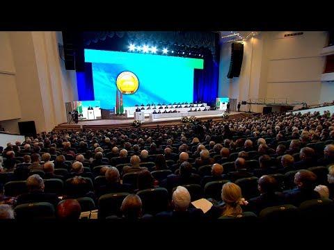 Выступление Лукашенко на ІІ Съезде ученых Беларуси