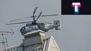 Вертолёты и Самолёты пролетающие над домами