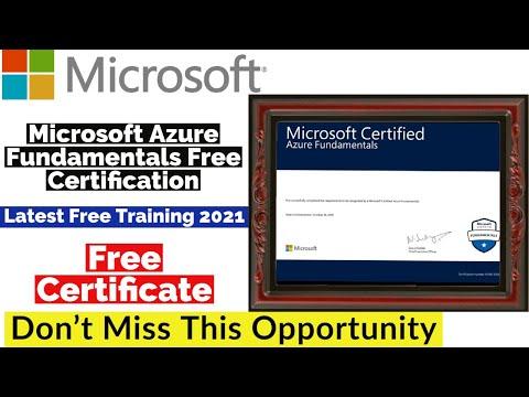 Microsoft Free Certification Courses | Free Microsoft Azure ...