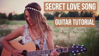 Secret Love Song - Little Mix // Easy Guitar Tutorial
