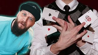 Magician Reacts to ACTUAL GOD LIKE Sleight Of Hand!!