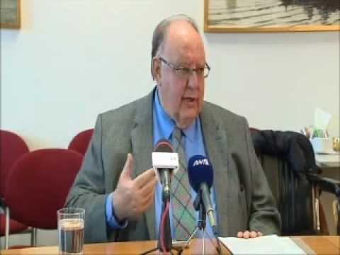 Συνέντευξη τύπου του Αντιπροέδρου της Κυβέρνησης, Θεόδωρου Πάγκαλου, για το Επιχειρηματικό-Οικονομικό Forum Ελλάδας - Ηνωμένων Αραβικών Εμιράτων.
