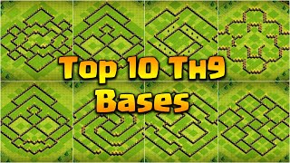 How to】 Copy Town Hall 9 Base
