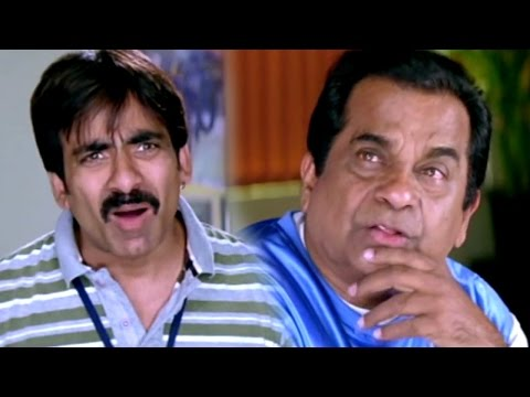 Download Ravi teja  & Brahmanandam Hilarious Comedy Scenes || Anjaneyulu Movie HD Mp4 3GP Video and MP3